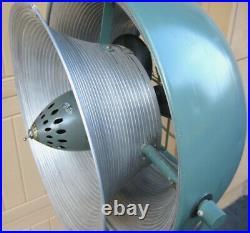 RESTORED Vintage Mid Century Vornado Pedestal Antique Fan A+ Design Eames