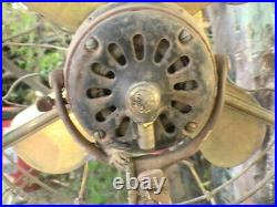 Rare 1900s Antique General Electric Office Fan