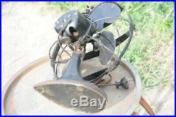 Rare 1935 Emerson SeaGull Art Deco Vintage Antique Fan Mid Century Desktop Fan