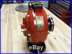 Rare Antique Electric Motor HOLTZER-CABOT 1/8 H P. PANCAKE MOTOR
