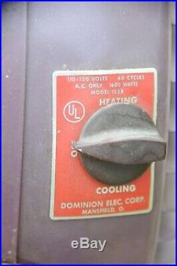 Rare Antique Fan Mid Century Modern Dominion Fan Art Deco Fan vintage fan heat