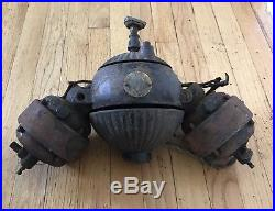 Rare Antique Westinghouse Gyrating Gyro Ceiling Fan Barn Find Direct Current DC