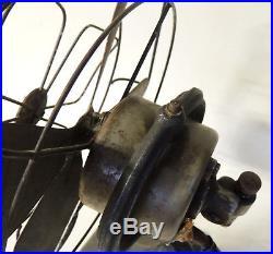 Rare ROYAL ROCHESTER 15760 Antique vtg Art Deco 10 Desk or Wall Oscillating FAN
