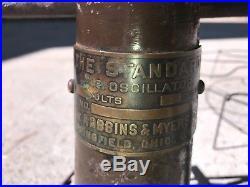Rare Robbins & Myers The Standard Lollipop 16 vintage fan 200-250V antique