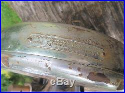 Rare Vintage Antique Hunter MODEL TYPE 52 ADAPTAIR Industrial CEILING FAN