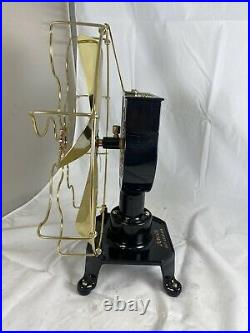 Restored Specialty Mfg Co 12 Brass Blade And Cage Water Fan. Rare Fan