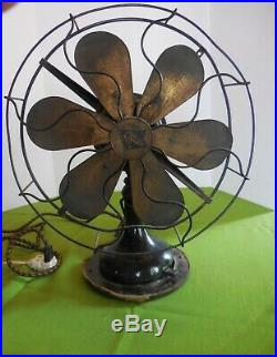 Robbins & Myers Fan Alternating Current Model 3804 antique 13