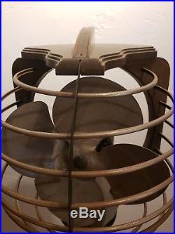 Royal Rochester Pedestal fan Antique Electric fan Art Deco Machine Age Retro