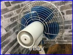 TOSHIBA Electric Oscillating Fan Japanese vintage antique Japan 4 blade