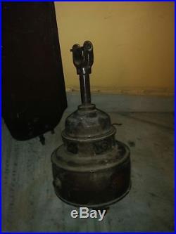 VERITYS ANTIQUE DC ELECTRIC CAST IRON CEILING FAN 1900s RARE ORIGINAL WORKING