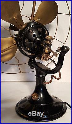 VERITYS ORBIT LIGHT 12 antique electric fan
