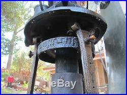 Vintage Antique Fan Jost Hot Air Fan Also Lake Breeze Fan Ge Fan Brass Blade Fan