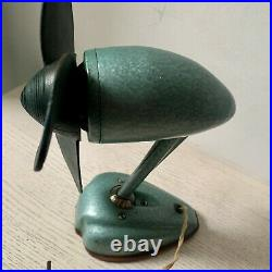 VINTAGE Electric Table FAN 1959 USSR RARE ANTIQUE OLD Home Decor Collectible