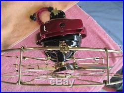 Vintage Fan Antique Fan Vintage Ge Fan Ge Brass Blade Fan Electric Fan Old Fan