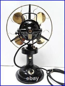 Ventilatore da tavolo e da parete MARELLI BISA 1920- Antique old electric fan