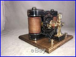 Very Nice Fully Restored 1890s Manchester Type Bipolar Motor