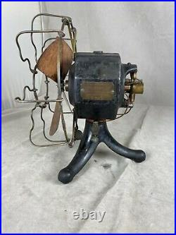 Very Rare And Hard To Find Edison Iron Clad Battery Fan