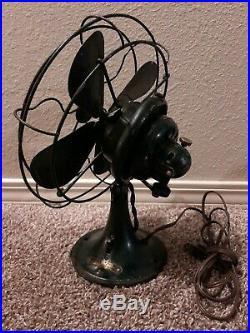 Vintage 12 Antique GE General Electric Oscillating Fan