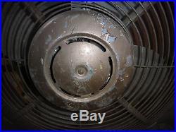 Vintage 60s Antique Industrial Large Window Fan Frigid 26 Inch Speampunk Barn