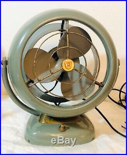 Vintage ANTIQUE Original Vornado Model D16C1 2-Speed Electric Fan