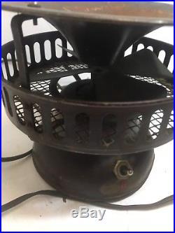 Vintage Antique Brass Fan Small Electric Fan 1930s, 1920s