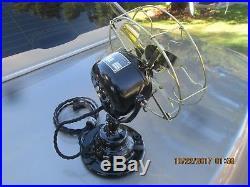 Vintage Antique Fan Vintage Emerson Fan Brass Blade Fan Antique Electric Fan