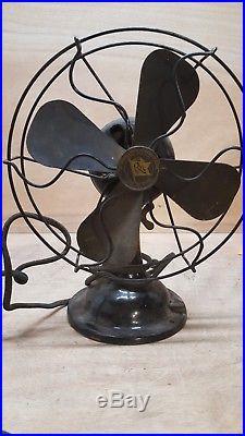 Vintage Antique Robbins & Myers Co. Fan List No. 3504 Junior Org Cord REPAIR