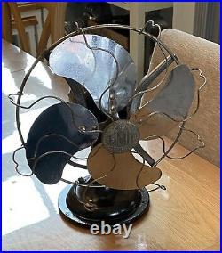 Vintage Antique Veritys Limit Electric Electrical Fan