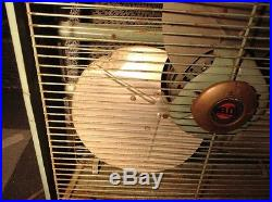 Vintage Belco industries variable speed fan antique collectable industrial icon
