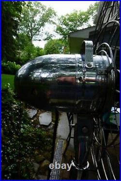 Vintage Cory Fresh'nd Aire Chrome Pedestal Fan Model B8951 Three Speed Fan