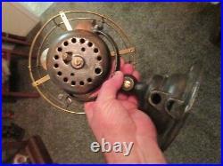 Vintage Emerson Fan 14644 Brass Blade Fan 8 Antique Fan Bullwinkle Blade Fan
