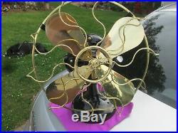 Vintage Fan Antique Fan Brass Blade Fan Vintage Westinghouse Fan Iron Tank Fan