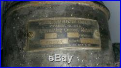 Vintage Fan Antique Fan Brass Blade Fan Westinghouse Fan Iron Tank Fan 12