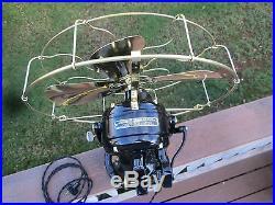 Vintage Fan Antique Fan Vintage Ge Fan Antique Brass Blade Fan Ge Sidewinder Fan