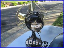 Vintage Fan Antique Fan Vintage Ge Fan Brass Blade Fan Old Electric Fan