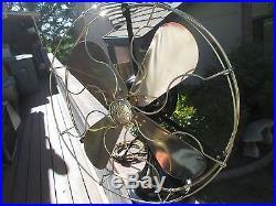 Vintage Fan Antique Fan Vintage Ge Fan Ge Brass Blade Fan General Electric Fan