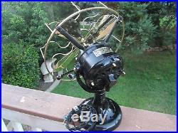 Vintage Fan Antique Westinghouse Fan Tank Fan Brass Blade Fan Westinghouse Fan