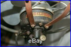 Vintage Gilbert Electric Floor Standing Fan / Fantastic Presence
