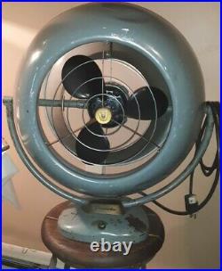 Vintage Industrial VORNADO Two Speed Fan A12D110 Tested Working