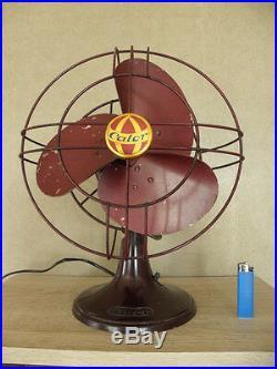 Vintage electric fan old retro bakélite machine age antique mid century vtg