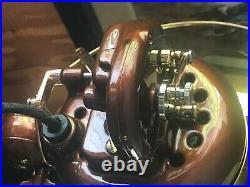 Vintage emerson oscillating electric fan