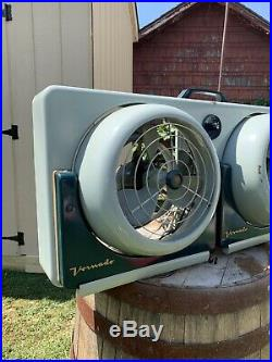 Vornado Vintage Antique Mid century Fan 48ct-1 FULLY FUNCTIONAL