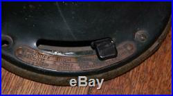 Vtg Antique GE General Electric 75423 AOU Brass Blade Fan 3 Speed Oscillating