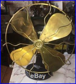 Westinghouse 1899-1900 Tesla Antique Brass Electric Fan